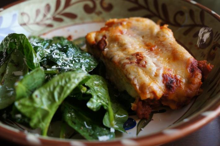 Manicotti with Fresh Pasta